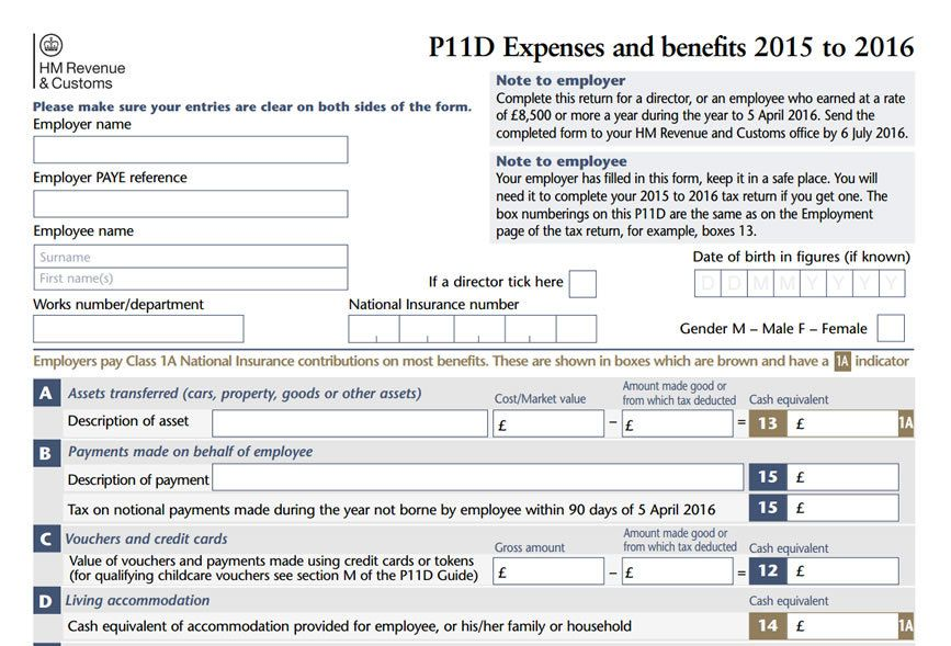P11d Deadline Approaching 6 July 2016