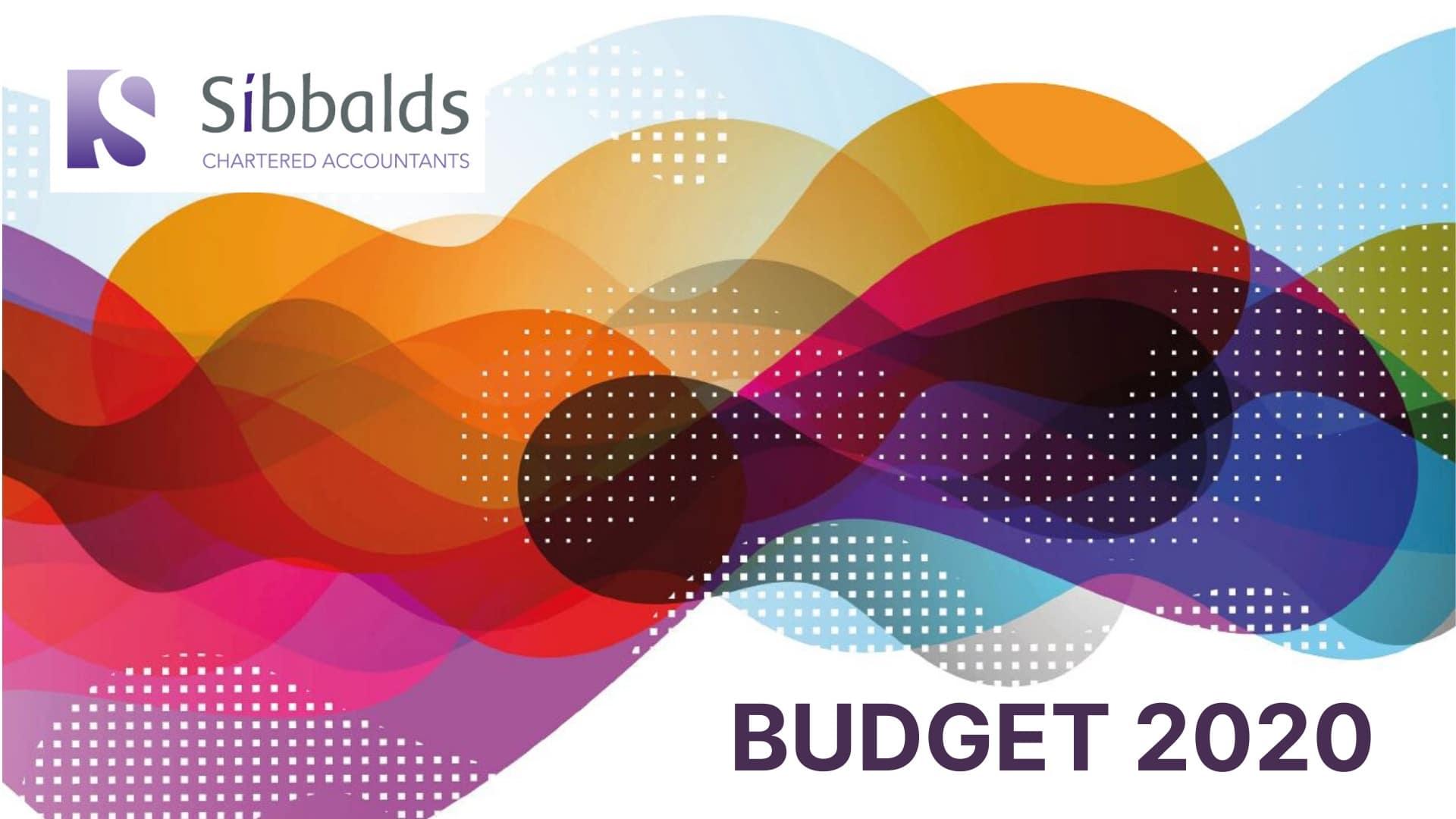 sibbalds budget summary 2020
